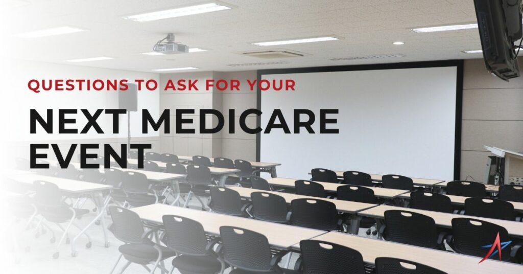 medicare sales event, medicare seminar or booth