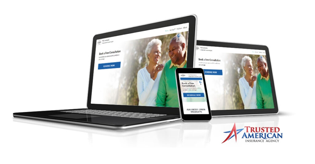 Website services for medicare insurance agents