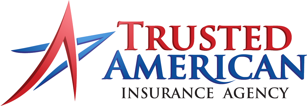 trusted american insurance agency logo without tagline